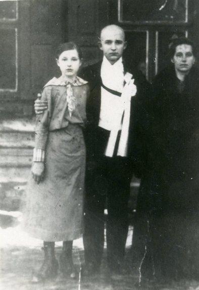 Азин на свадьбе сестры, 1913 г.